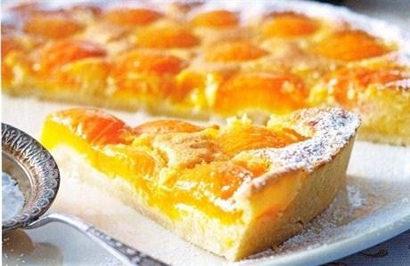 Торт с абрикосами рецепт с фото