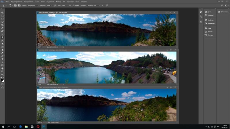 как объединить фото в панораму приготовили для вас