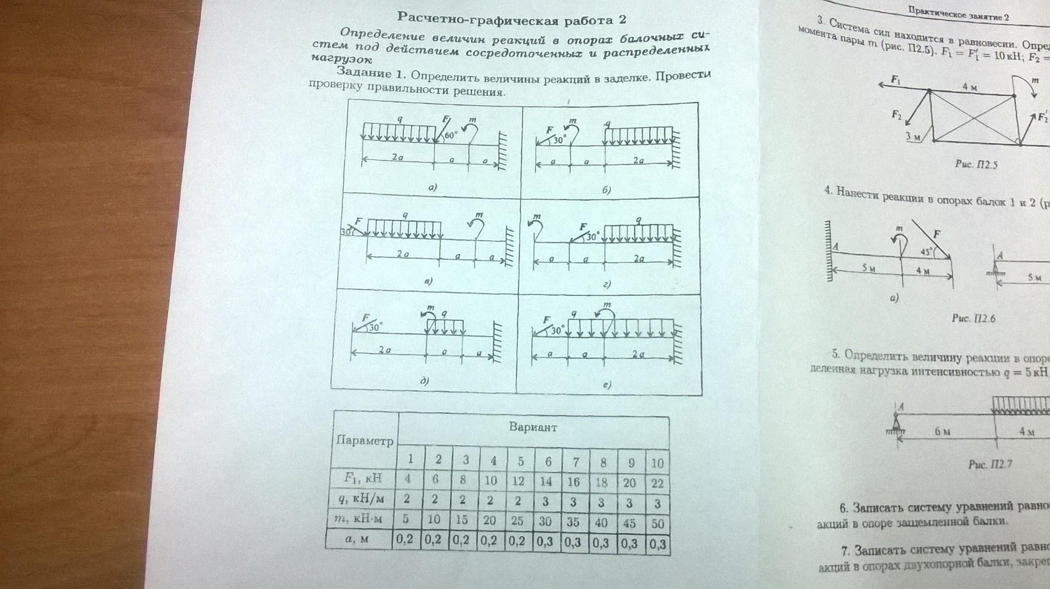 Решебник Сборник Задач Для Расчетно-графических Работ По Технической Механике