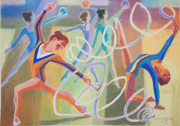 картинка на изо спорт в жизни человека