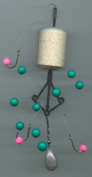 Кто клюет на шарики из пенопласта
