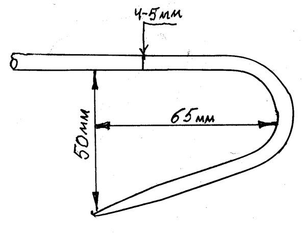 узнать, какая форма багра для морской рыбалки для вязания купить