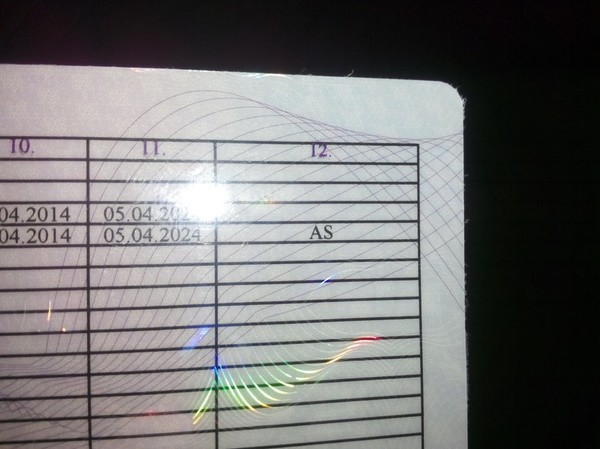 что значит ac в водительском удостоверении
