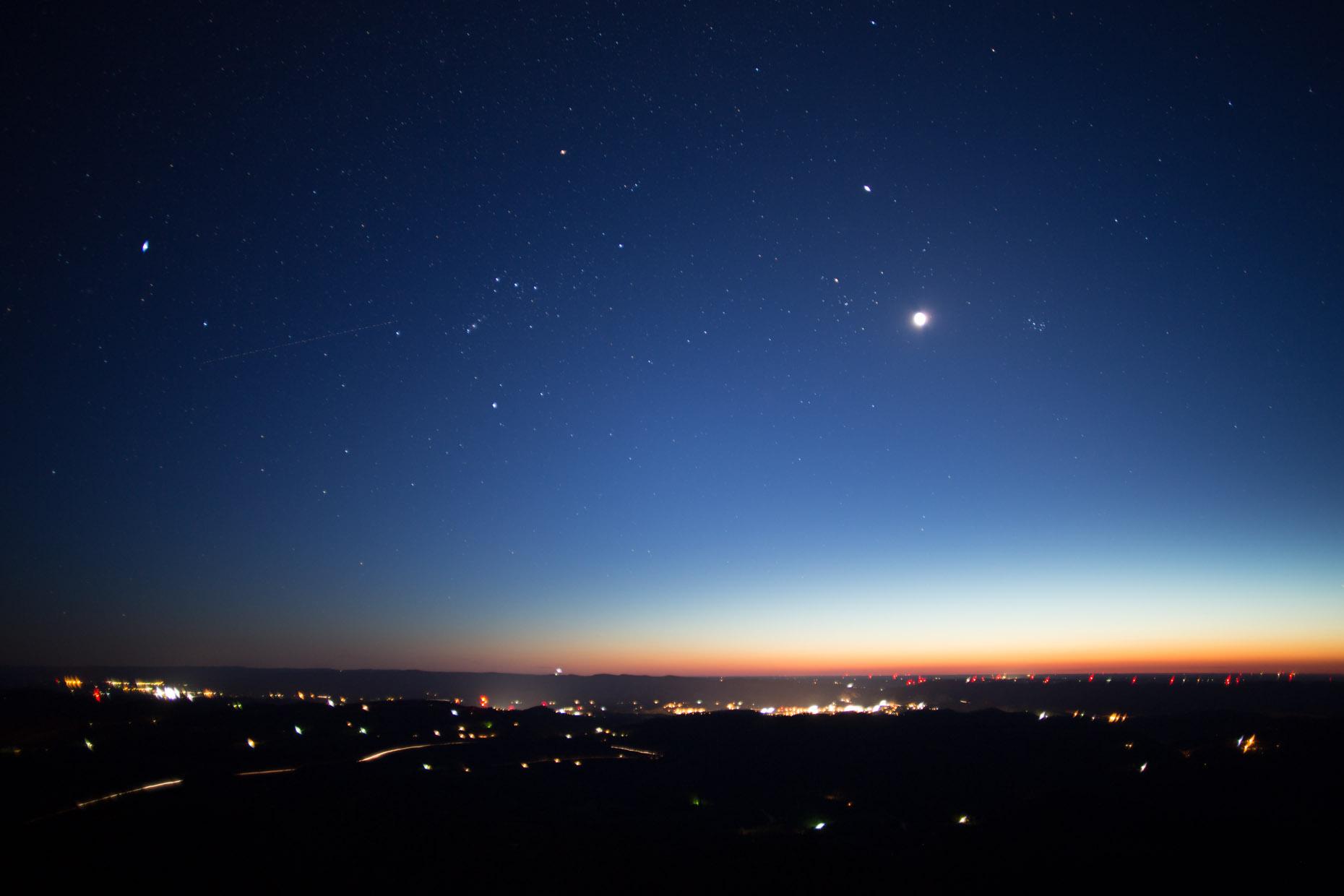 венера на звездном небе фото тех