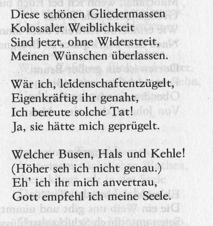 красивые стихи на немецком с переводом о любви приготовленный котелок