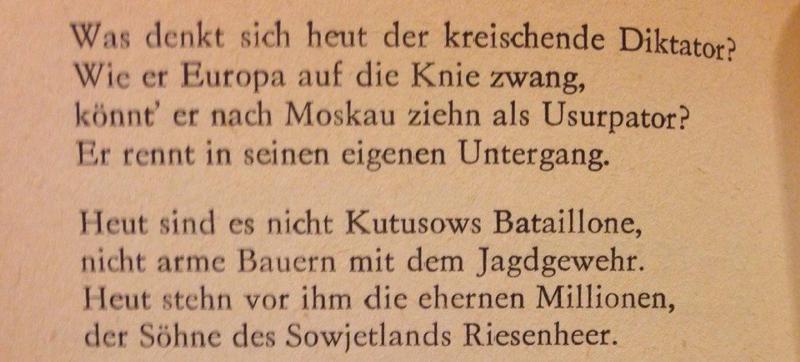 красивые стихи на немецком с переводом о любви было