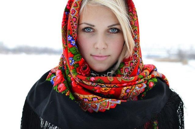 фото русских девушек