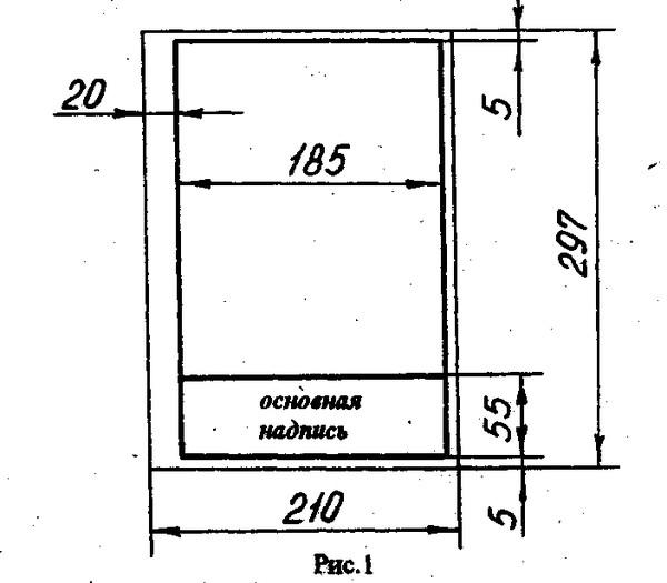 Ответы mail ru размеры рамки и штампа для а рамки