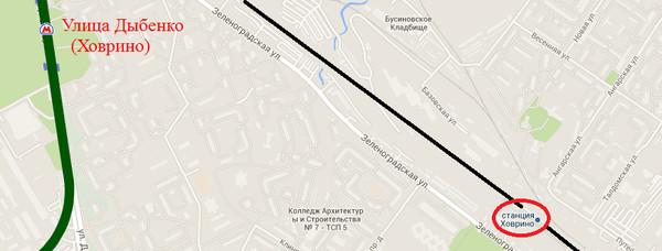 руля (По где будет метро ховрино на карте почитать Бушкова