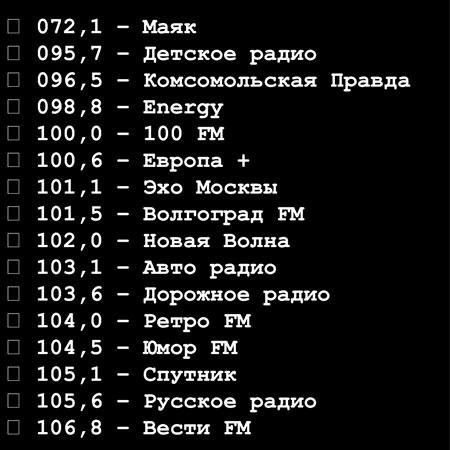 каталог радиостанций в рб
