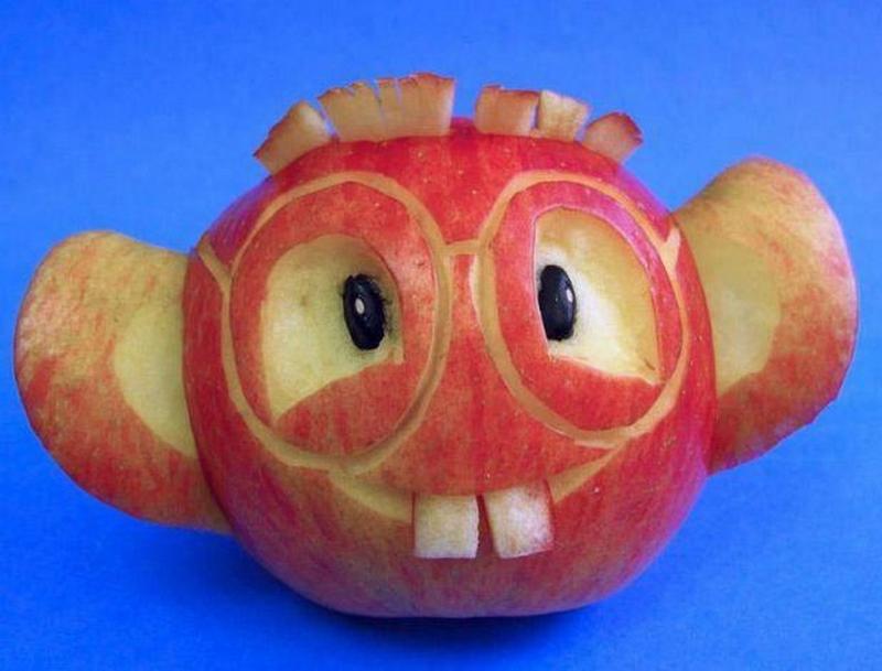Про любовь, картинки прикольных яблок