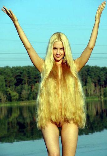 голые длинные блондинки фото