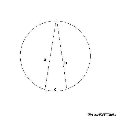 Постройте окружность, описанную около тупоугольного треугольника. - Школьные poiskobuvi.ru