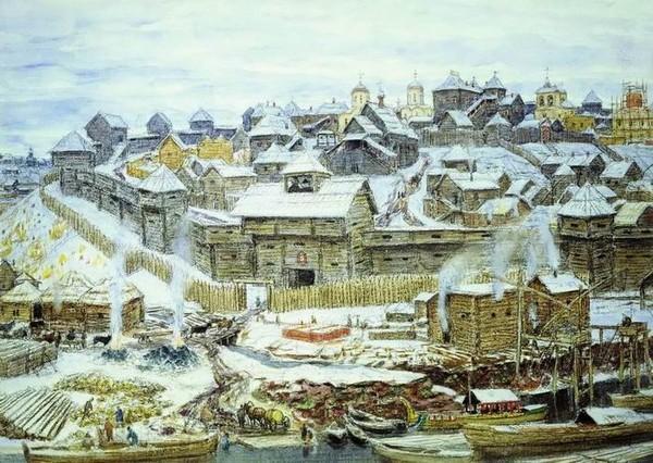 Почему кремлевские стены красили в белый цвет