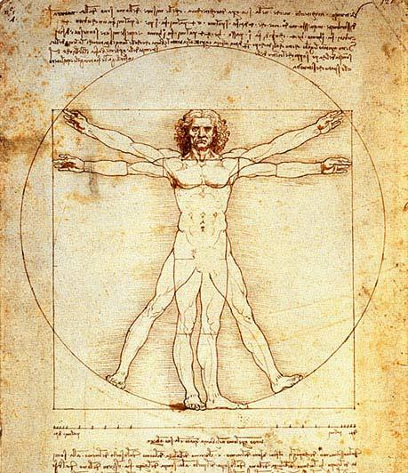 Ответы mail ru Реферат Пропорции человеческого тела в различные  Он выполнил рисунок в котором показана пропорциональная закономерность в соотношении частей тела человека