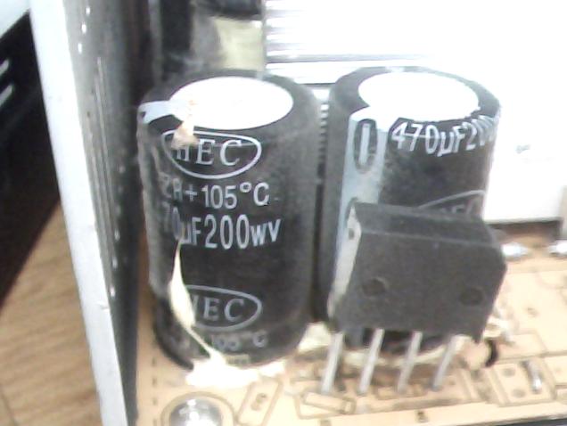 вытекшие конденсаторы фото для мастера без
