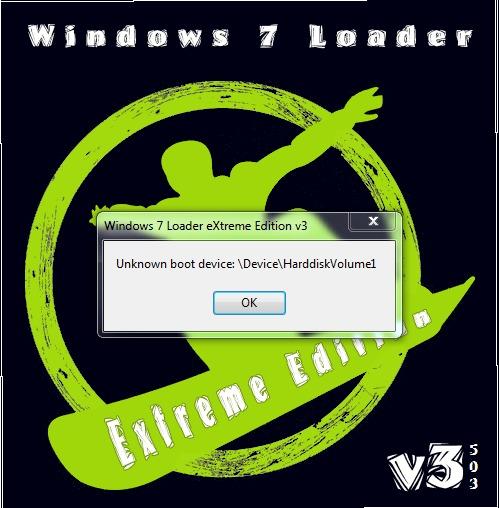 Windows 7 loader extreme edition stable инструкция