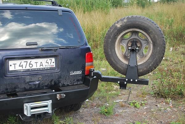 Как можно калитка запасного колеса на джип повторение возможно, причине