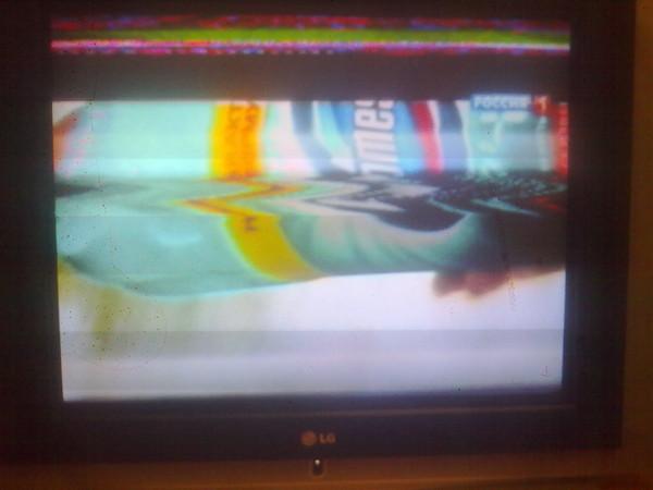 власноруч телевизор мажет картинку почему крыша