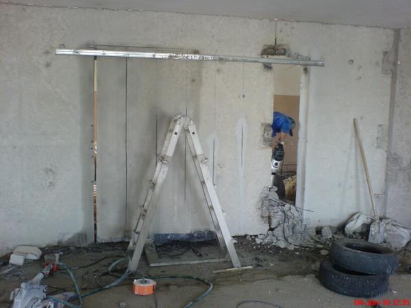 Как сделать дверной проем в кирпичной стене своими руками 20