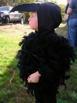 Как сделать своими руками костюм вороны