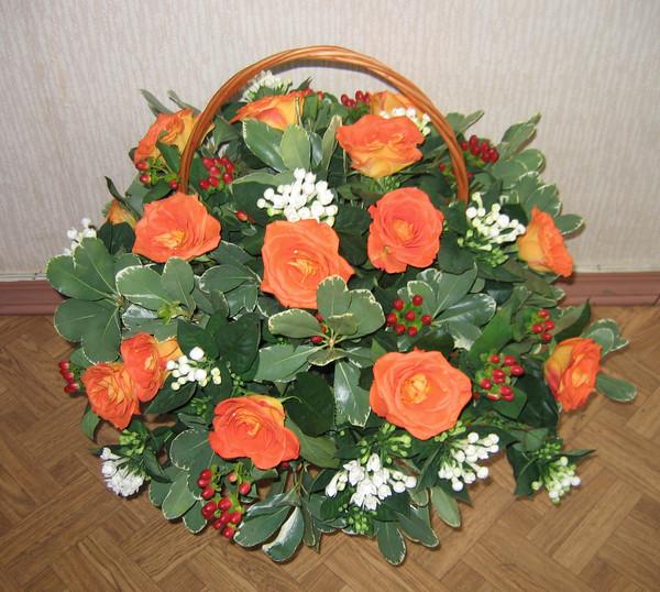 Букет из домашних роз как сделать