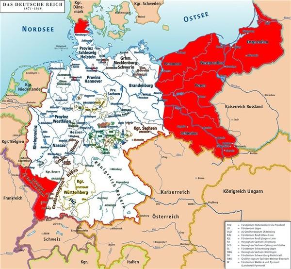 Германская империя карта пальма шоколадка