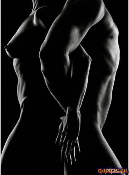 эротика черно белые фото мужчина и женщина