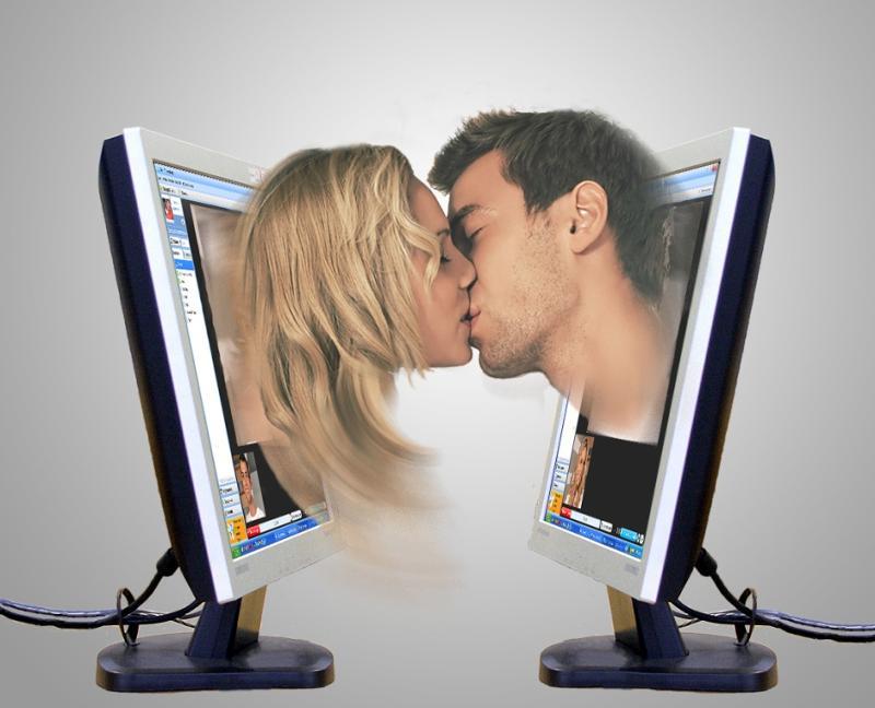 социальных общение знакомства сетях в