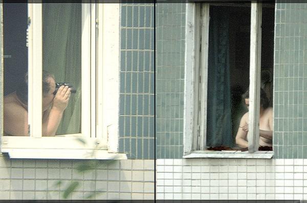подглядывание домашние окна - 10