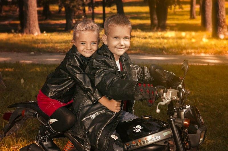 картинки малыши на мотоцикле декор, еда