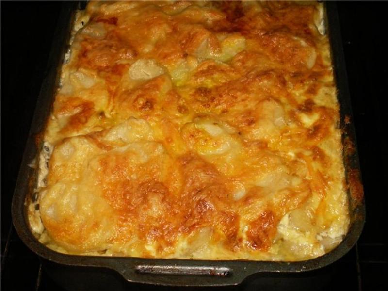 как приготовить вкусно в духовке картошку с фаршем