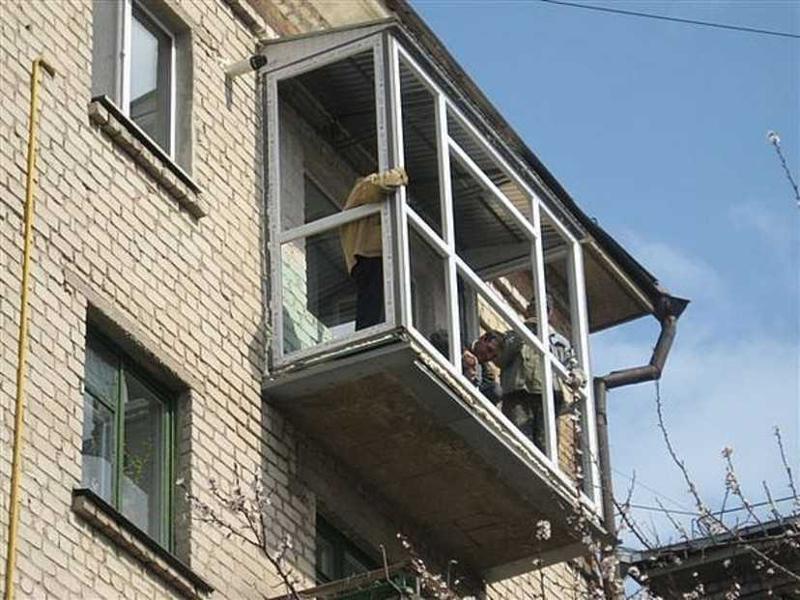 Ответы@mail.ru: если сделать каркас для балкона с крышей как.