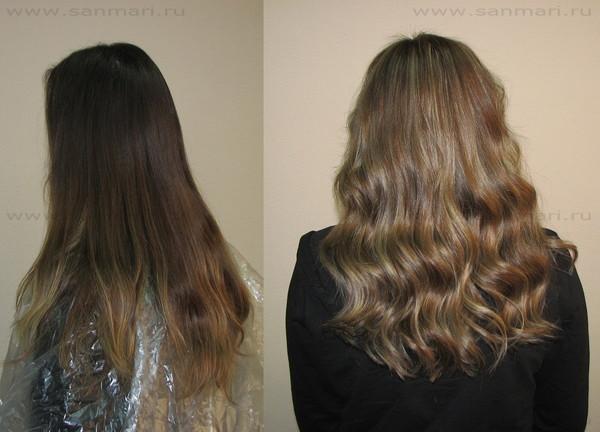 Цвет волос ледяной капучино фото