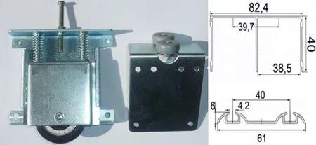 Алюминиевый профиль для шкафов купе и мебельных фасадов