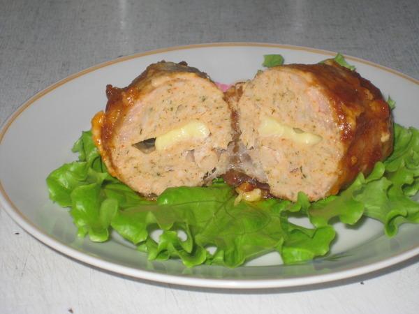 Галантин из курицы пошаговый рецепт с фотографиями