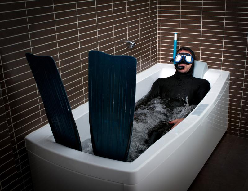 Классные фото в ванной