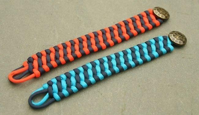 Браслеты своими руками из шнур