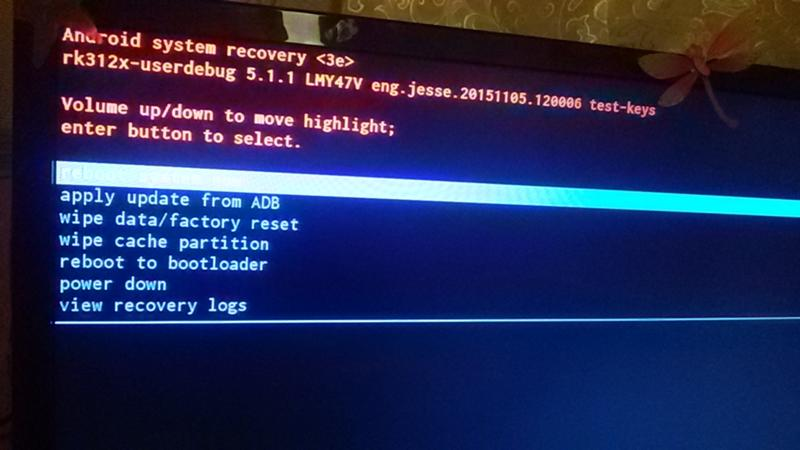 Android recovery restore user data