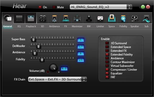 Heart программу для улучшения звука