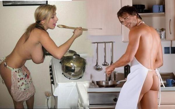 Жена вместо ужина угощает мужа пиздой, ласкает грудь моей жены