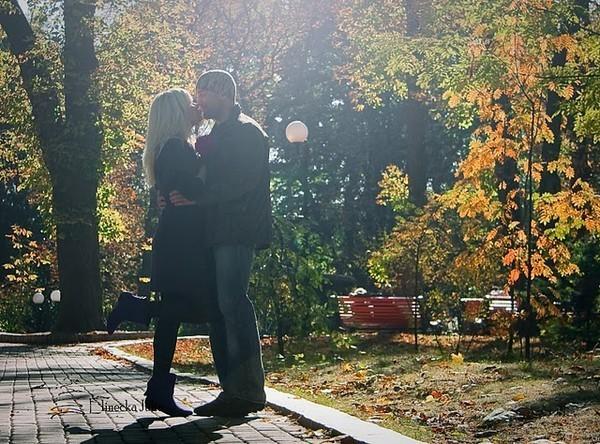 Осенние картинки прикольные про любовь