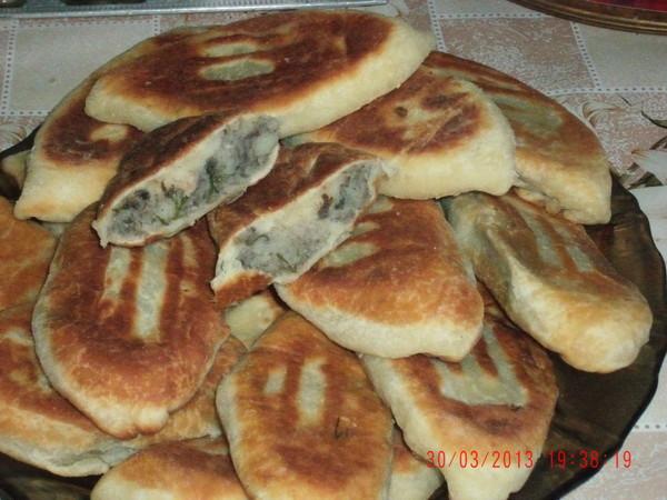 тесто для пирожков жареных без дрожжей на сковороде