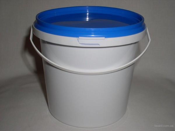 Пластиковые ведра с крышкой 10 кг производитель