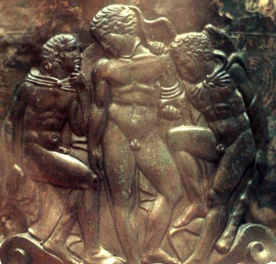 древние воины гей сцены