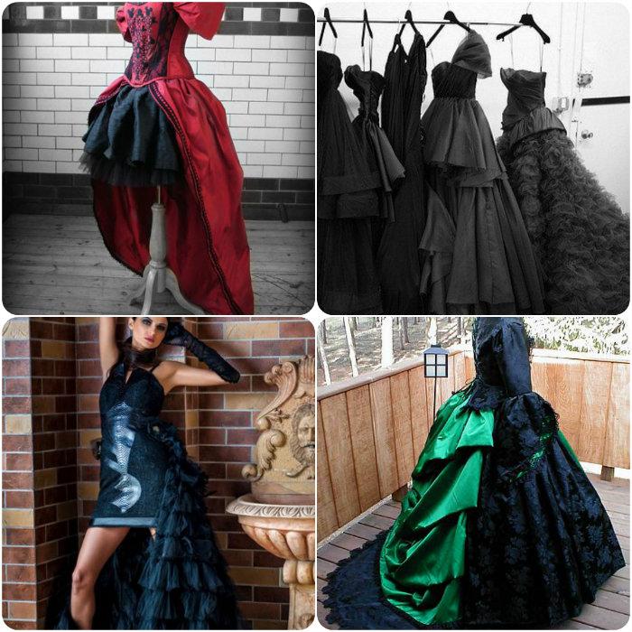 Платье стало коротким