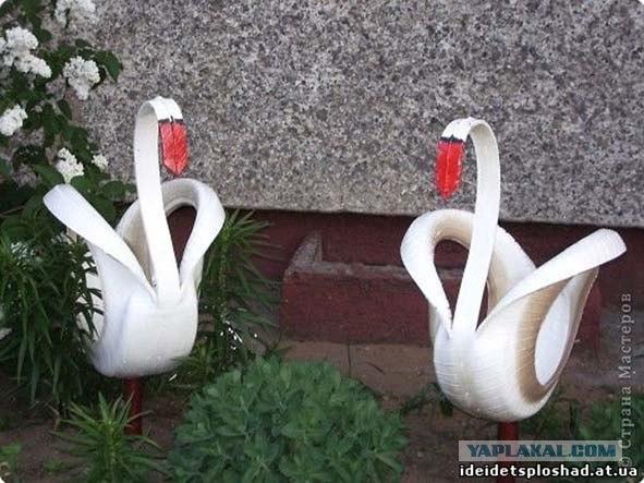 Красим лебедя, кстати, очень