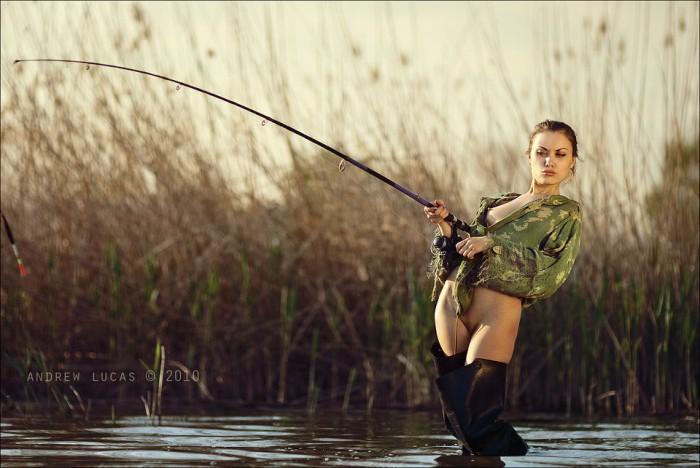 С на рассказы рыбалке бабами