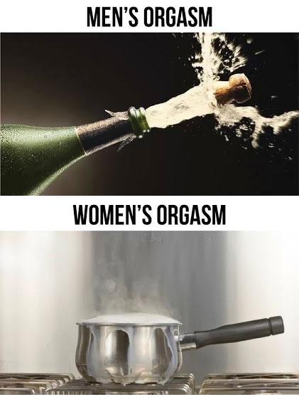 Мужской оргазм женский