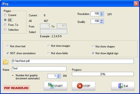 как переделать формат Pdf в Jpg - фото 7